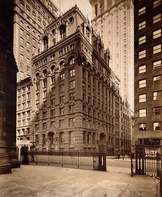 First National Bank Building. New York City, New York. 1921