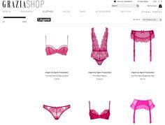 GraziaShop.com does a good job with ghosting lingerie.