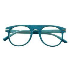 1d930318042 Clear Lens Designer Super Wood Like Round Flat Top Eyeglasses Frames R2140