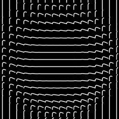 Geometric & Patterns , animated gif gifs hypnotic trippy via Bees & Bombs Optical Illusion Gif, Optical Illusions, Gif Animé, Animated Gif, Op Art, Animation, Rob Sheridan, Trippy Gif, Types Of Art
