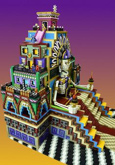 LEGO Day of the Dead | The Edge of Glory......where the phys… | Flickr