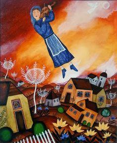 Jewish Art, Naive Art, Folk Art, African, Illustration, Artwork, Painting, Imagination, Ideas