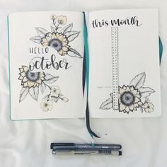 Been a relatively quiet week so I decided to do my October spread loving this layout and it makes me feel so organized!! This was also my first time trying sunflowers . . . #showmeyourplanner #organised #perfectionist #leuchtturm1917 #bulletjournallove #mybujo #lettering #handlettering #handwriting #bujocommunity #bulletjournallove #bulletjournalitis #bulletjournal #bujo #bujojunkies #bujotracker #bujolover @tombowusa @bulletjournal @bujobeauties @bulletjournallayout @leuchtturm1917 ...