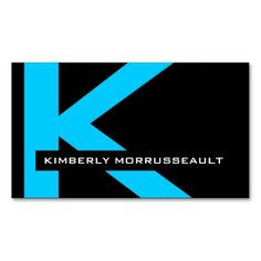 Modern Monogram Business Cards. This is a fully customizable business card and available on several paper types for your needs. You can upload your own image or use the image as is. Just click this template to get started!