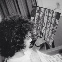 Tim Curry behind the scenes