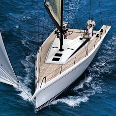 """ivtyachtsales:  """"This is one hot looking #swan #sailboat  """""""