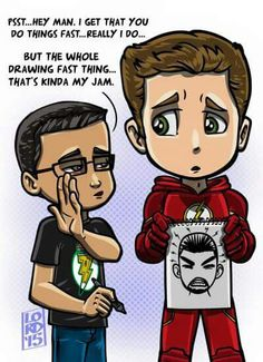 Lord Mesa art  The Flash Barry