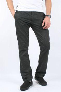 Brixton - Mens Thompson Pant Slack Pant In Charcoal $45.47