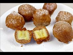 You will love this easy and delicious Fried Banana Bites Recipe and we have a video tutorial to show you how. Check out the Fried Honey Bananas too. Fried Honey Bananas, Mexican Fried Ice Cream, Fruit Recipes, Cooking Recipes, Banana Bites, Cheap Meals, Easy Meals, Sweet And Spicy, Sweet Tooth