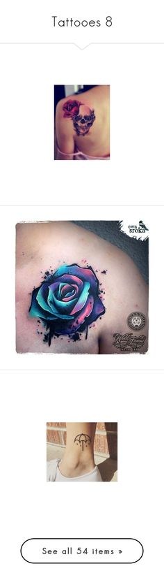 """Tattooes 8"" by musicmelody1 ❤ liked on Polyvore featuring accessories, body art, tattoos, tatoos, pictures, tattoos and piercings, tattoos and scares, ink, other and tattoo"