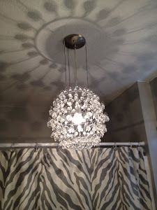 Tutorial on how to make a drum shade chandelier based on inspiration diy crystal chandelier aloadofball Choice Image