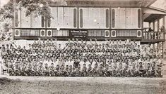 St. Michael's Academy, Catarman, Samar, 1947 #kasaysayan #pinoy #classpicture Class Pictures, Samar, Pinoy, Filipino, Over The Years, Photo Wall, Photograph