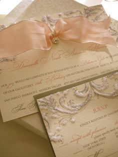 Sweet 16 Invitation - great for baby announcement, shower or christening invitation too! xo Embellishments Invitations