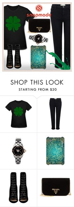"""""""Snapmade9"""" by aidri ❤ liked on Polyvore featuring Current/Elliott, Barbara Bui and Prada"""
