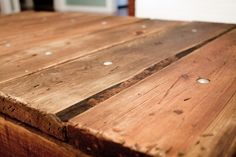 The Blissful Bee: How To: Age Wood