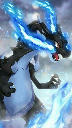 Mega Charizard X - fetphat. Pokemon Charizard, Pokémon Mewtwo, Ninetales Pokemon, Kalos Pokemon, Pokemon Dragon, Pokemon Manga, Charmander, Top Pokemon, Hd Pokemon Wallpapers