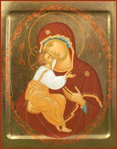 Mother of God of Žyrovičy 30×41 cm, To order. Catalog of St. Elisabeth Convent…