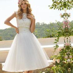 Plus size wedding dress short - http://pluslook.eu/wedding/plus-size-wedding-dress-short.html. #dress #woman #plussize #dresses