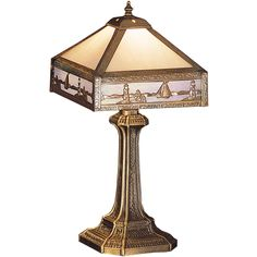 19 Inch H Sailboat Mission Accent Lamp - Custom Made