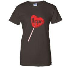 Nope shirt anti-valentine's day suck tee shirt humor