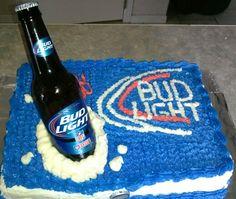 Budlight Cake.