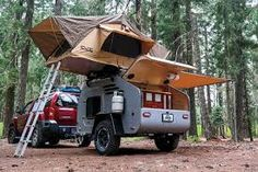 Image result for build lightweight camper trailer