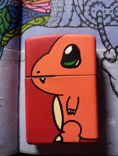 Okay, this is cool. It's a charmander lighter.