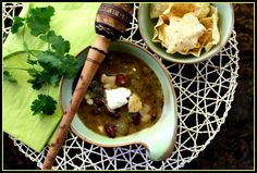 Southwest Chicken & bean Soup