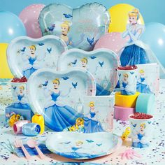 She says she wants a Cinderella party