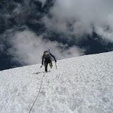 Vallunaraju, Cordillera Blanca, Andes do Perú. 18 e 19 de agosto de 2011