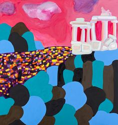 Angela Brennan -Landscape with a silver lining