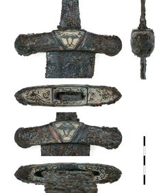 Vikings, Sword Hilt, Germanic Tribes, Viking Sword, Viking Age, Dark Ages, Ancient History, Archaeology, Knives