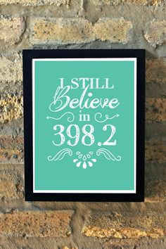 I Still Believe in 398.2 Dewey Decimal System Fairy by MMPaperCo