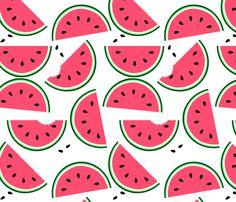 Summery food!        If the preview isn't working, try this: http://jadegordon.deviantart.com/art/Fabric-Designs-VIIII-182809704