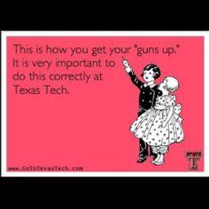 Take note... #TexasTech #CollegeColors #TTAA