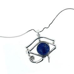 925 Oxidized Sterling Silver Blue Lapis Eye of Horus Pendant Chuvora http://www.amazon.com/dp/B00SG4JTWM/ref=cm_sw_r_pi_dp_03FTvb031VJDQ