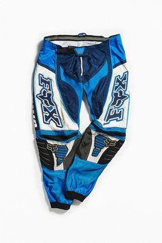 Vintage Fox Blue + White Moto Pant | Urban Outfitters Vintage Shops, Vintage Items, Vintage Fox, Moto Pants, Urban Outfitters, Blue And White, Pairs, Legs, Zip