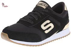 Skechers OG 78 Gold Fever, Sneakers Basses Femme, Blanc (Blanc/Or), 36 EU (3 UK)