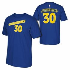 Golden State Warriors adidas 2015 Stephen Curry Social Media Tee - Blue