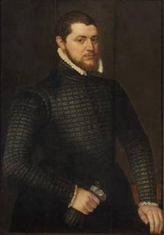 A Man, 1575   (Adriaen Thomas Key) (1544-1589)   Kunsthistorisches Museum, Wien   GG_808