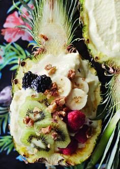 Ananas-kookospehmis   Soppa365