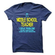 I am a MIDDLE SCHOOL TEACHER - #gift for him #gift friend. ACT QUICKLY => https://www.sunfrog.com/LifeStyle/I-am-a-MIDDLE-SCHOOL-TEACHER-28836043-Guys.html?68278