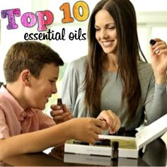 "♥ Top 10 Essential Oils ~ Here are the top 10 essential oils and blends- the ""feel better"" essentials that every person may use to care for themselves and their family's on a daily basis."