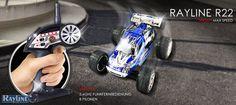 RC Auto Rayline R22 2.4 GHz High Speed Mini-Offrad Car