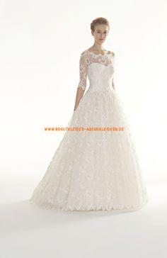 Romantisch Brautkleider für Prinzesssin 2014 aus Spitze