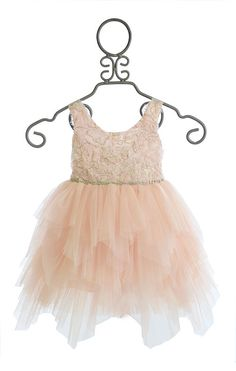 Le Pink Girls Special Occasion Dress in Pink PREORDER $136.00