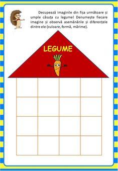 Învățăm jucându-ne: Legumele - Logorici Farm Activities, Teacher Resources, Diy And Crafts, Playing Cards, Games, Centre, Autumn, Kids, Playing Card Games