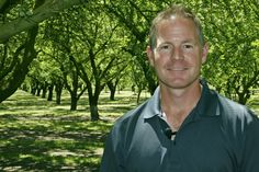 Brent Boersma is a 3rd generation almond grower