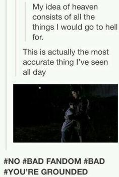 Pin by Jamie Wesner on My Inner Fangirl: Supernatural Sam Dean, Castiel, Impala 67, Fangirl, The Maxx, Supernatural Memes, Spn Memes, Believe, Super Natural