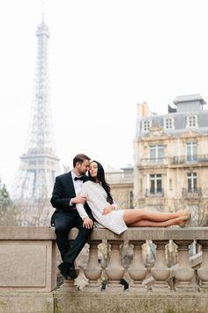 Intimate Paris elopement